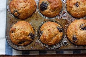 Blackberry Cornmeal Muffins