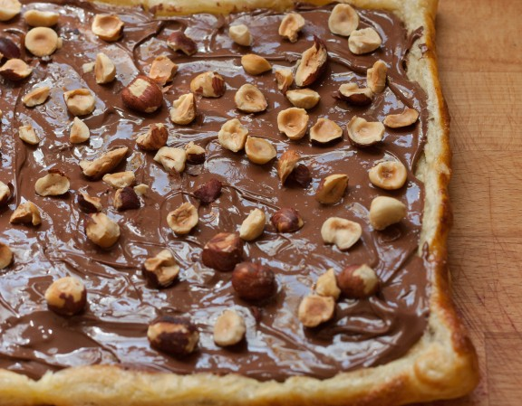 Nutella Puff Pastry | A Sweet Spoonful