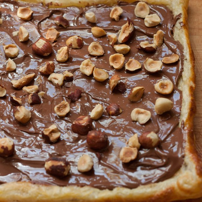 Nutella Puff Pastry