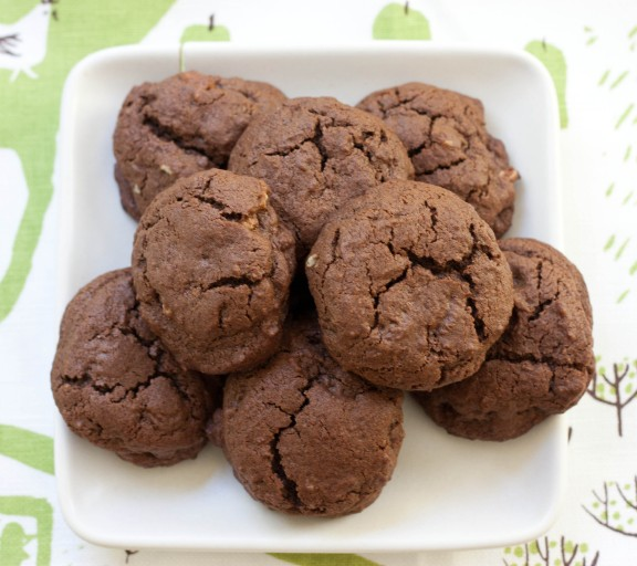 Double Chocolate Espresso Cookies | A Sweet Spoonful