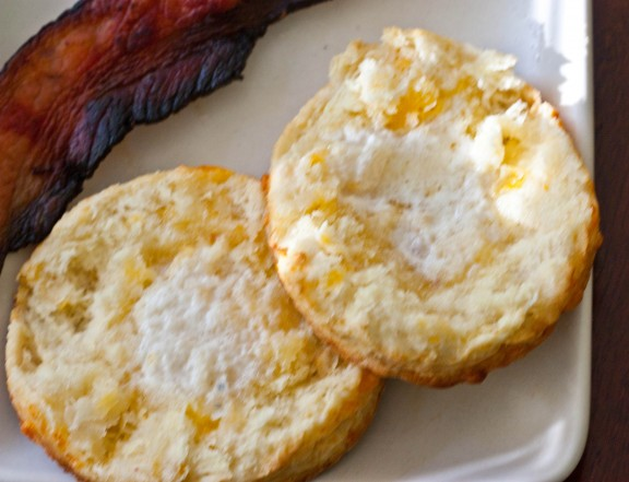 Biscuits and Bacon