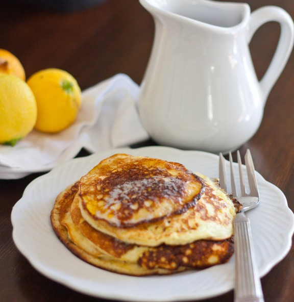 Sour Cream Pancakes | A Sweet Spoonful
