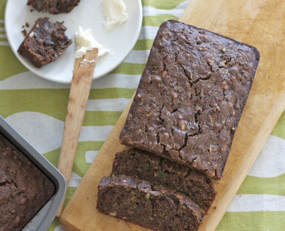 chocolate zucchini bread