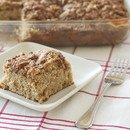 harvest apple coffee cake