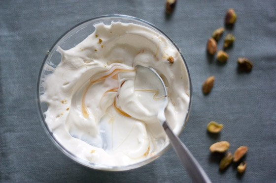 Strained Buttermilk Yogurt with Mango and Pistachios | A Sweet Spoonful