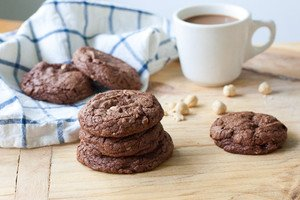 Chocolate Hazelnut Cookies