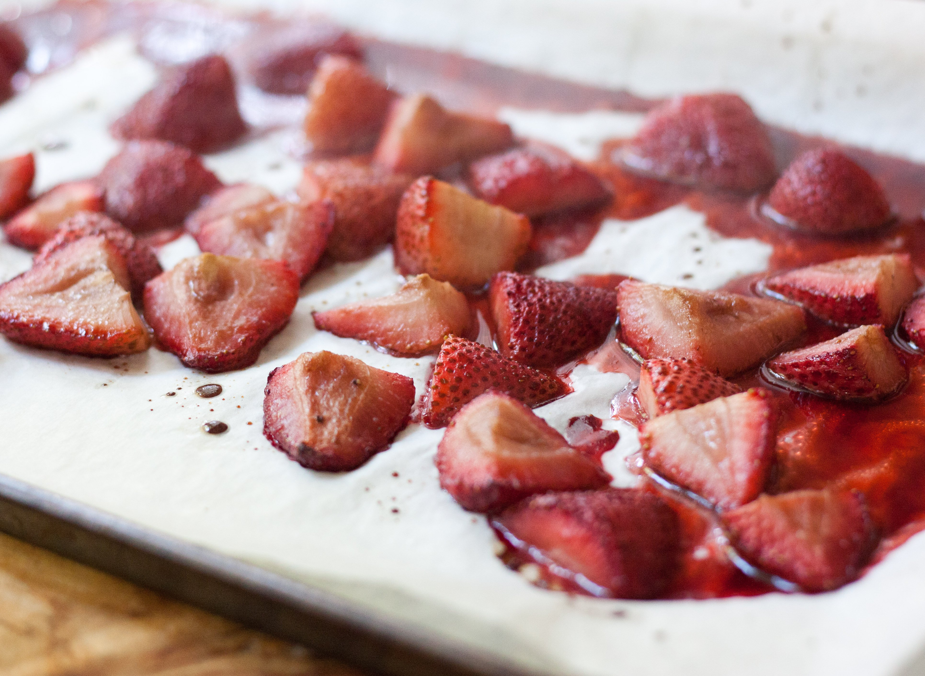 Roasted Strawberries – A Sweet Spoonful