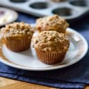 Morning Glory Crumble Muffins | A Sweet Spoonful