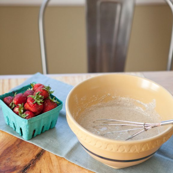 Yogurt Crepes with Strawberries and Yogurt Whipped Cream | A Sweet Spoonful