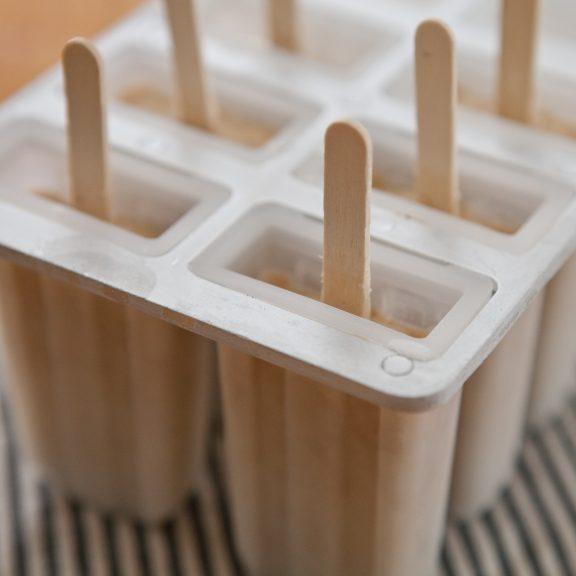Toasted Coconut Popsicles   A Sweet Spoonful
