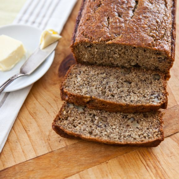 Whole Wheat Banana Bread | A Sweet Spoonful