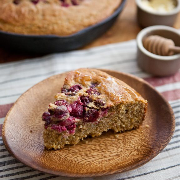 Honeyed Spelt Cornbread With Fresh Cranberries A Sweet Spoonful