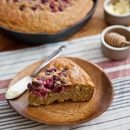 Honeyed Spelt Cornbread with Fresh Cranberries | A Sweet Spoonful