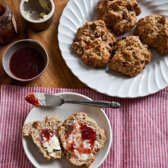 Spiced Sultana Drop Scones | A Sweet Spoonful