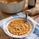 Pasta and Chickpea Soup | A Sweet Spoonful