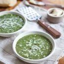 Power Greens Soup | A Sweet Spoonful