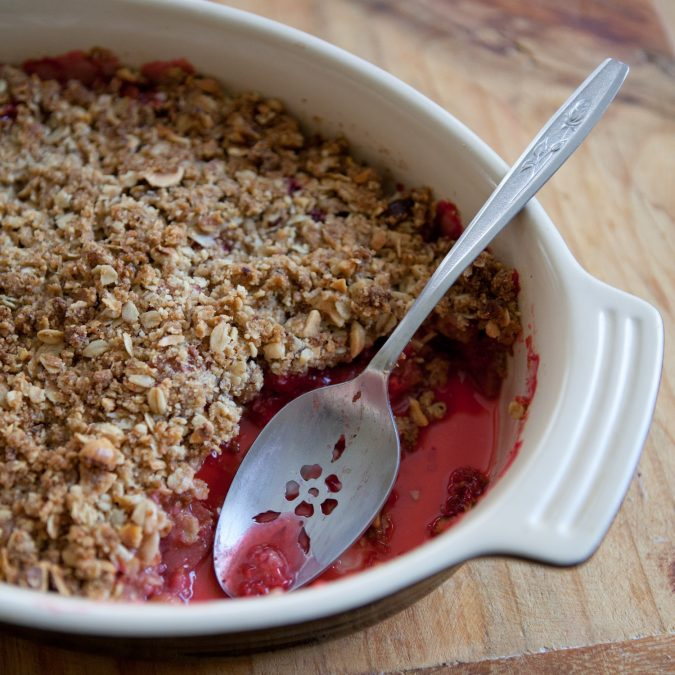 Whole Grain Any-Fruit Crisp