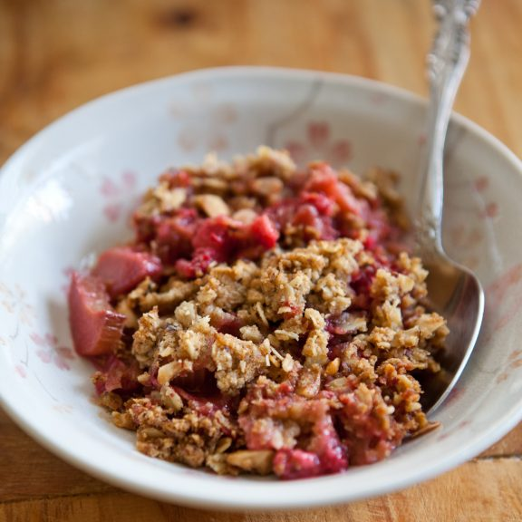 Whole Grain Any-Fruit Crisp | A Sweet Spoonful