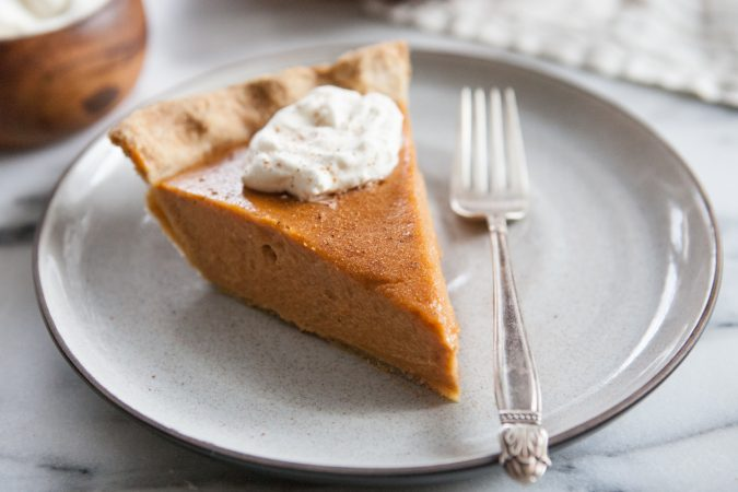 Brown Butter Sweet Potato Pie with Kamut Crust | A Sweet Spoonful