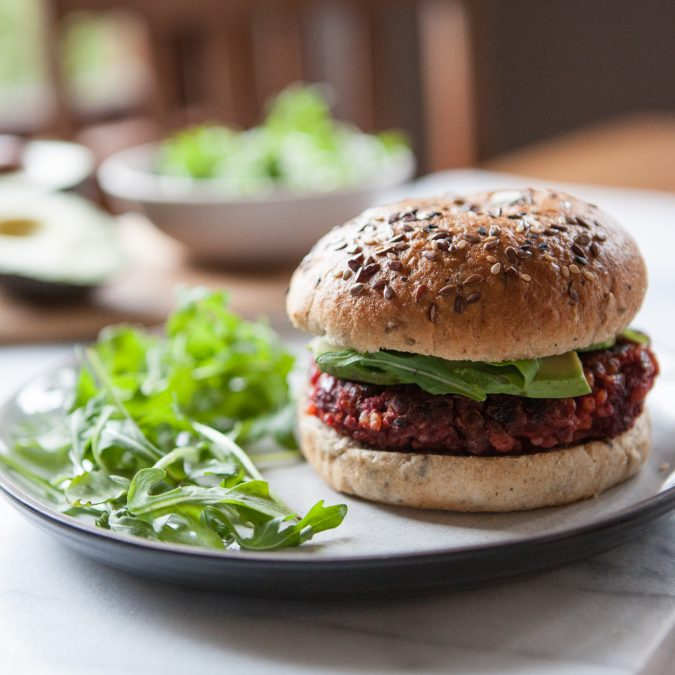 Smoky Beet Burgers | A Sweet Spoonful