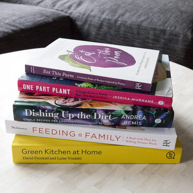 Five Favorite Spring Cookbooks | A Sweet Spoonful