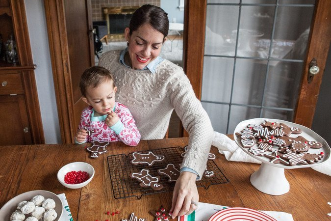 The Very Best Chocolate Gingerbread Men Cookies   A Sweet Spoonful