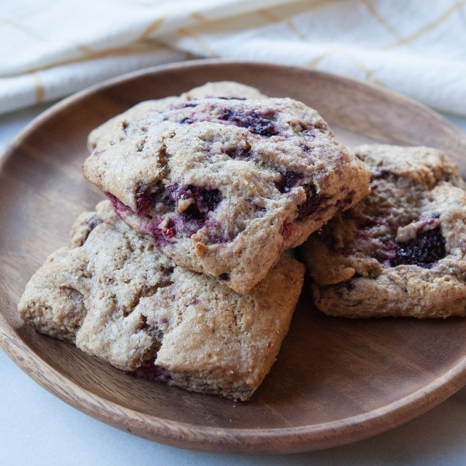 Buttermilk Berry Scones | A Sweet Spoonful