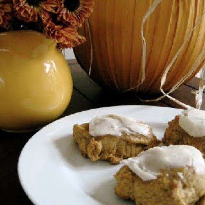Pumpkin Raisin and Nut Cookies