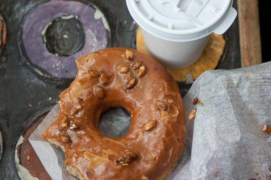 pumpkin donut