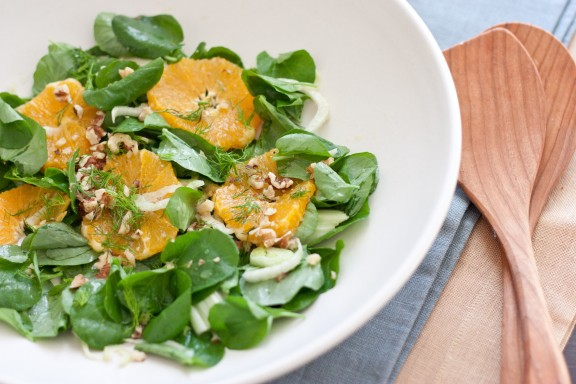 watercress fennel salad