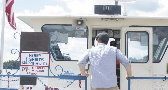 sam on ferry
