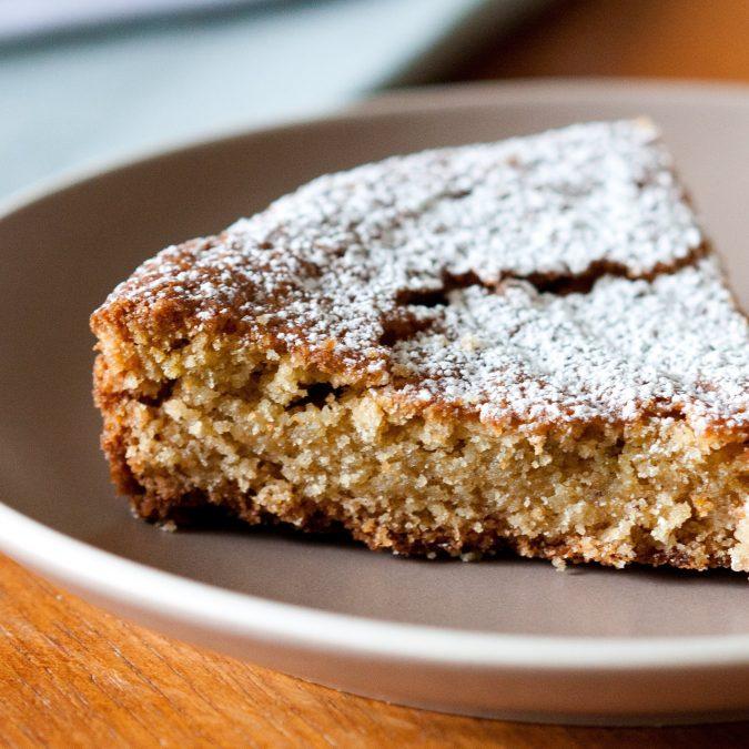 Cardamom Snacking Cake