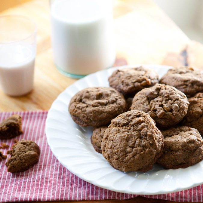 Spiced Ginger, Citrus and Graham Cookies