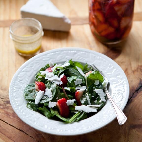 Pickled Strawberry Salad