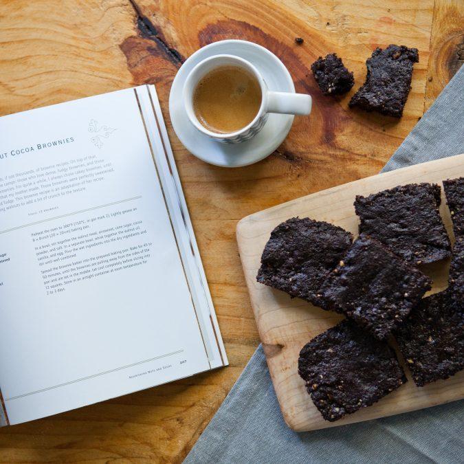 Walnut Brownie Thins