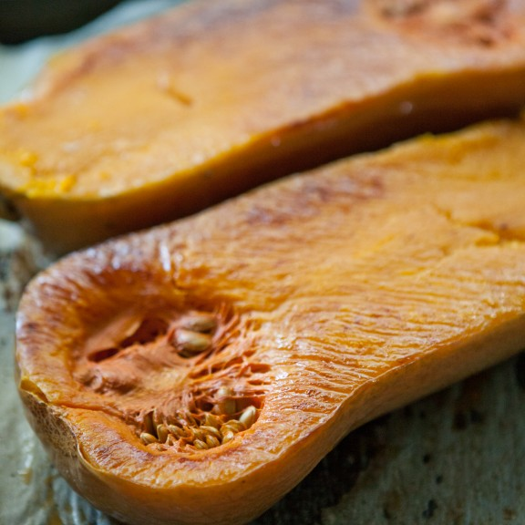 Roasted Butternut Squash | www.asweetspoonful.com