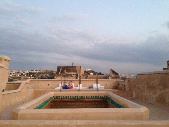 Fez, Morocco, Rooftop