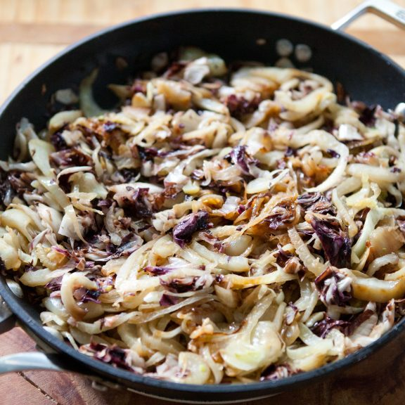 Stuffed Shells with Fennel and Radicchio | A Sweet Spoonful