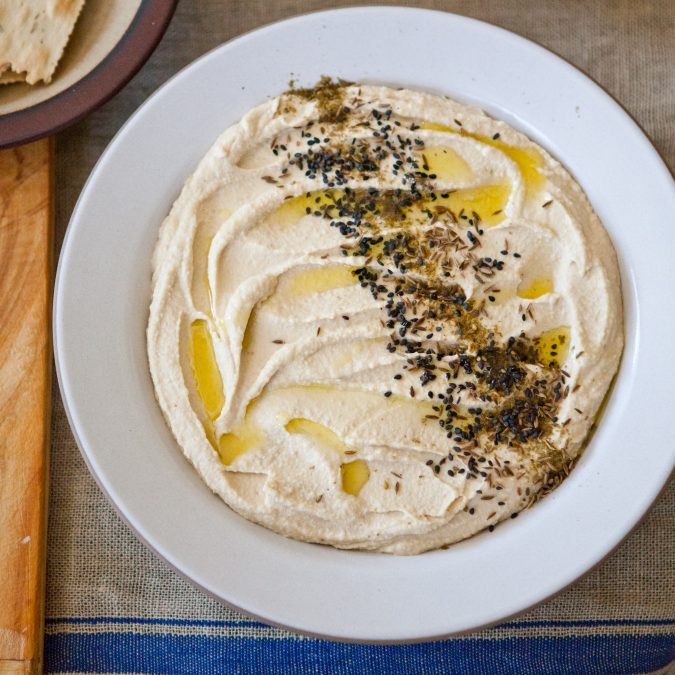 Hummus with White Miso
