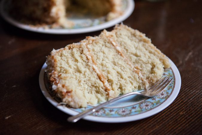 Southern Coconut Cake | A Sweet Spoonful