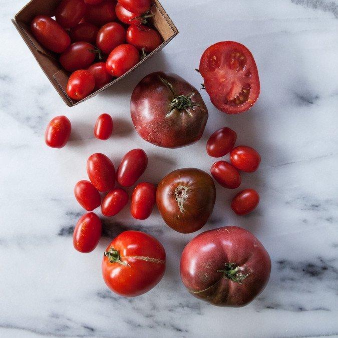 Triple Tomato and Feta Salad | A Sweet Spoonful