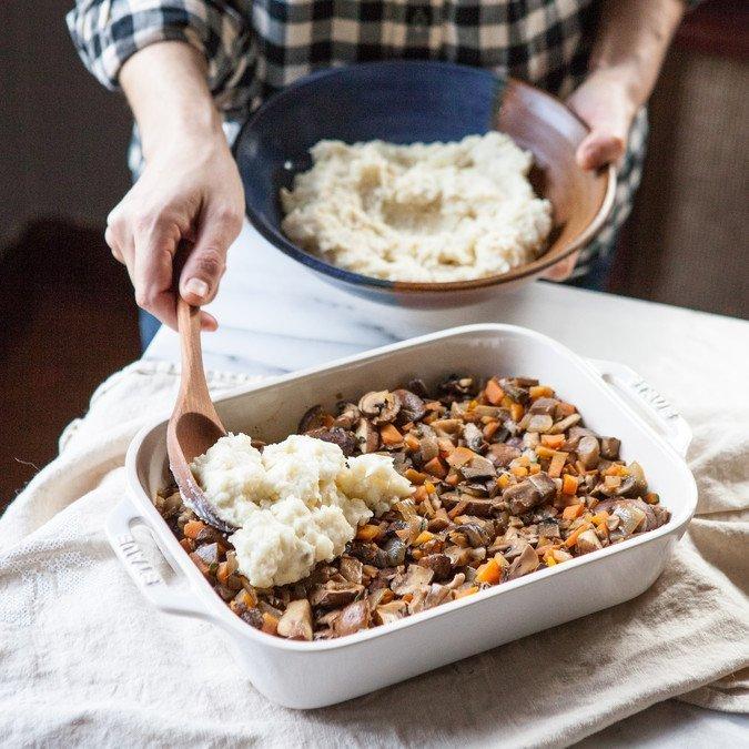 Wild Mushroom Shepherd S Pie A Sweet Spoonful