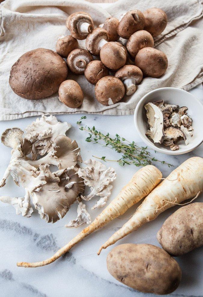 Wild Mushroom Sheperd's Pie | A Sweet Spoonful
