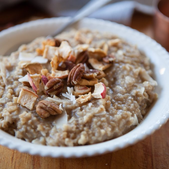 Instant Pot Coconut Steel Cut Oatmeal