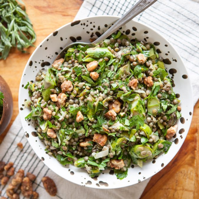 Easy Spring Lentil Salad