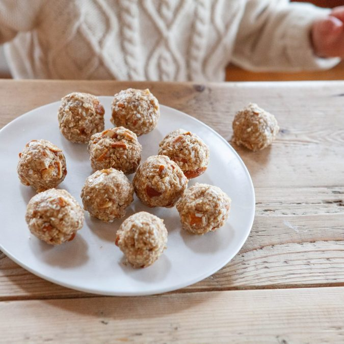Coconut Almond Energy Bites